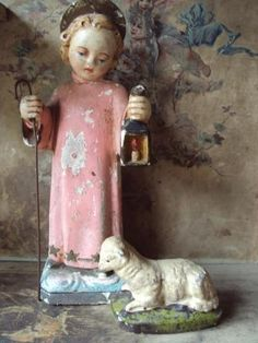 From an old creche.