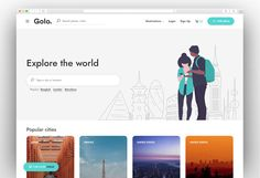 Golo - City Travel Guide WordPress Theme Most Popular, Wordpress Theme, Travel Guide, City, Popular, Travel Guide Books, Cities