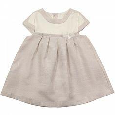 Oatmeal Baby Lurex Dress MAYORAL
