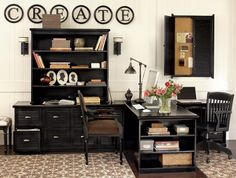 Category » home renovation « @ Home Improvement Ideas. Efficient double office area!
