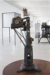 Màquina de desvirar cantos Telescope, Industrial, Industrial Music