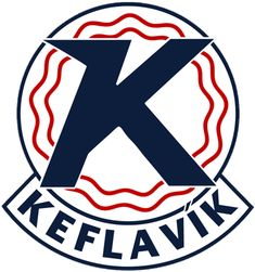 Keflavik IF Iceland Soccer Football Car Bumper Sticker Decal x Football Team Logos, Car Bumper Stickers, European Football, Book Making, Lululemon Logo, Scores, Thor, Jan 17, Keflavik Iceland