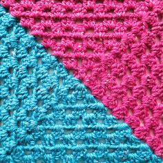 This is my video tutorial showing how to turn the Granny into two granny triangles.