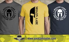 Camisetas Molon Labe. Come and Take them. Camisetas Militares. www.paracamisetas.com