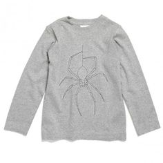 Spider t-shirt by Tuss http://www.littlefashiongallery.com/fr/mode-enfant/tuss/rufus-t-shirt-spider-grey-tuss-h13/