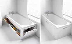 Great idea for extra storage space.