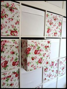Cath Kidston for Ikea DRÖNA - Rosali storage box | eBay