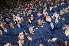 More than 7,500 honored at commencement
