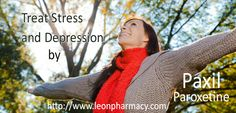 Get Relief from Stress and Depression by Paxil paroxetine