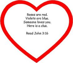 valentine's day and john 3 16