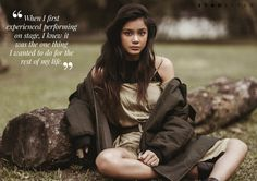 Field of Dreams featuring Ylona Garcia - Star Style PH Ylona Garcia, Field Of Dreams, 14 Year Old, Adolescence, Star Fashion, Ph, Interview, Singer, Actresses