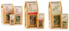 Tea Pigs will be at IFE  - the miniature packaging looks great too!