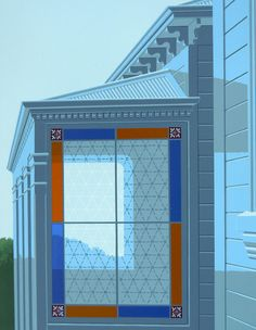 Window #NewZealand #architecture @PeterSiddell #NZArt #NZpainting Nz Art, Early Humans, Window Cleaner, New Zealand, The Neighbourhood, Louvre, Windows, Artists, Architecture