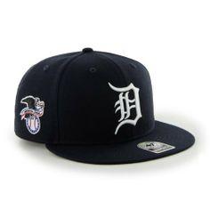 MLB Detroit Tigers Men s  47 Brand Big Shot Snapback Cap (Navy 01b50d6b08