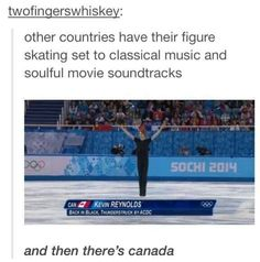 Actually, I love figure skating to country ,using, pop music, and rock music. Classic music is too boring to skate to.