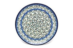 Polish Pottery Plate  10 Dinner  Terrace Vines -- Details on product can be viewed by clicking the image