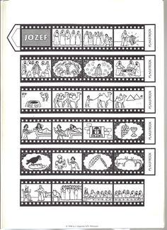 filmstrook met het verhaal van Jozef