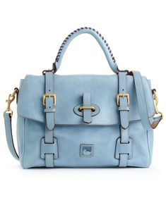 Dooney & Bourke Handbag, Florentine Flap Tab Satchel - Satchels - Handbags & Accessories - Macy's
