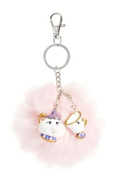 Primark - Beauty And The Beast Keyring
