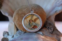 Archangel Michael devotional medal - pinned by pin4etsy.com