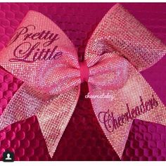 Pretty little liars cheer bow