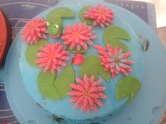 Waterlily cake