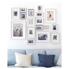 IKEA MÅTTEBY wall template, set of 4 Create a personal collage with the wall template.