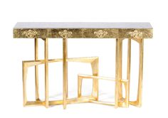 console table by Boca do Lobo | www.bocadolobo.com  #console #consoletable #table #interiordesign #moderninteriordesign #design #modern design