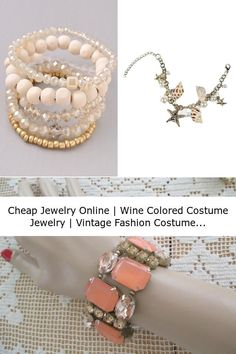 Cheap Jewelry Online   Wine Colored Costume Jewelry   Vintage Fashion Costume Jewelry Walmart Jewelry, All Gems, Bangles, Bracelets, Wine, Shopping, Vintage, Fashion, Moda