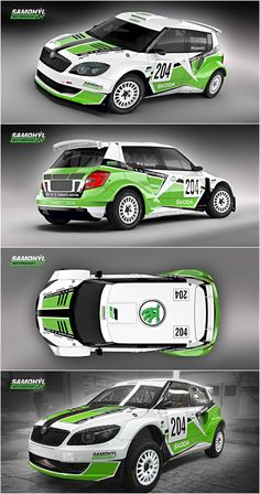 design and wrap of skoda fabia for samoh l motorsport team who will