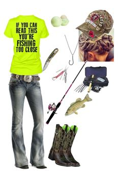 """Untitled #2"" by farmgirl806 ❤ liked on Polyvore featuring Miss Me, Ariat, Icon Brand, Topshop and Realtree"