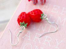 Ohrringe Silber Erdbeeren von CLARKIkind
