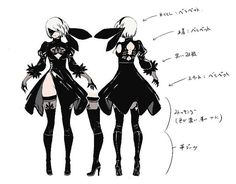 An exclusive look at the creation of 2B, by Nier: Automata's character modeller – PlayStation.Blog