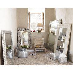 Miroir blanc BHOPAL   Maisons du Monde