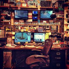 Casey Neistat's desk.