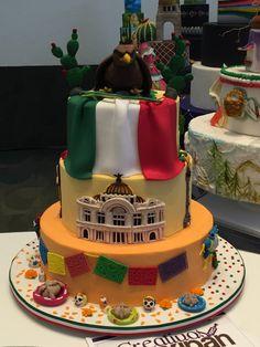 pastel fiestas patrias  mexipan 2016