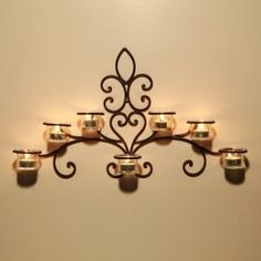 Rustic Wall Candle Holders - Foter