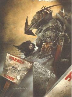 Nemesis the Warlock 2000ad prog 586 (no logos) by Simon Bisley