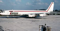 Vintage TAMPA Colombia Boeing 707 freighter