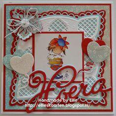 Ellie's Kaarten 3d Cards, Marianne Design, Advent Calendar, 3 D, Daisy, Scrapbook, Holiday Decor, Frame, Handmade