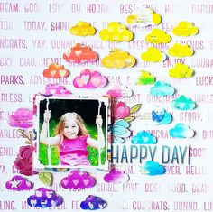 Happy Day | Scrapbooking Tutorial By Irit Landgraf