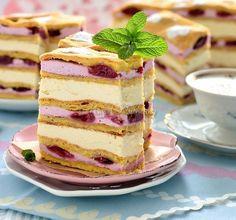Optimists cake (in Polish with translation) Cake Recipes, Dessert Recipes, Vegan Junk Food, Vegan Sushi, Vegan Smoothies, Vegan Kitchen, Polish Recipes, World Recipes, Food Cakes