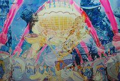 Jaeyeon Yoo 'Imagine your War' Painting Rise Art, Buy Art Online, Online Art Gallery, Art Day, War, Artwork, Painting, Collection, Work Of Art