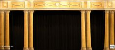 072D Pillar Portal - Theatrical Backdrop Rentals by Kenmark