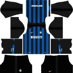 You can get Inter Milan Kits Dream League Soccer - Inter Milan DLS Kits. You can get other kits of all international clubs and teams. Soccer Kits, Soccer Games, Football Kits, Real Madrid Third Kit, Inter Milan Logo, Ac Milan Kit, Liga Soccer, Italian League, Soccer Logo