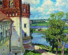 Аполлинарий Васнецов - Новодевичий монастырь. Башни