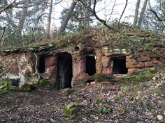 """""""In a hole in the ground there lived a hobbit…"""" Cave houses near Kinver, England (4032 x 3024)"""