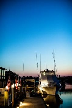 Shem Creek at sunrise - chefs leaving to fish for the Festival's Local Catch Cookout. Photo: Andrew Cebulka #chswff #fishing #shemcreek #charleston