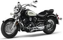 Yamaha Vstar. Mine is a red 650 Classic with extras