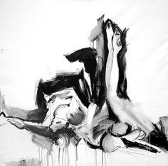La hoguera - Acrilico -120x120 - Vendido